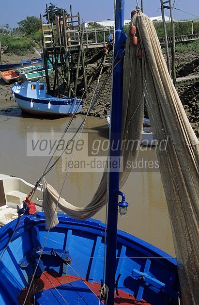 Europe/France/Pays de la Loire/44/Loire-Atlantique/Les Moutiers-en-Retz/Port du Collet: Bateau de pêche