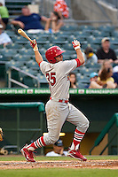 May 1 2010: Richard Racobaldo (35) of the Palm Beach Cardinals during a game vs. the Jupiter Hammerheads at Roger Dean Stadium in Jupiter, Florida. Palm Beach, the Florida State League High-A affiliate of the St. Louis Cardnials, won the game against Jupiter, affiliate of the Florida MArlins, by the score of 5-4  Photo By Scott Jontes/Four Seam Images