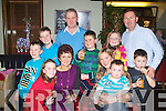 NEW YEAR: Ringing in the New Year at Gally's restaurant and bar, Tralee on Friday front l-r: Lisa and Breda Costello and Kate, Matthew and Michael Guerin. Back l-r: Shane, Darragh and James Costello and Tom, Alison and Dave Guerin..