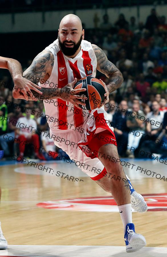 Pero Antic Crvena Zvezda - Barcelona Euroleague basketball match in Belgrade, Serbia on Oct 20. 2017. Crvena Zvezda won 90:82  foto: Pedja Milosavljevic