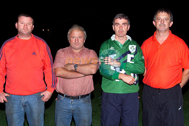 L/R, Brendan Reilly, manager and selectors Willie Englishby, Sean Reid and Aidan Green..Picture: Paul Mohan/Newsfile