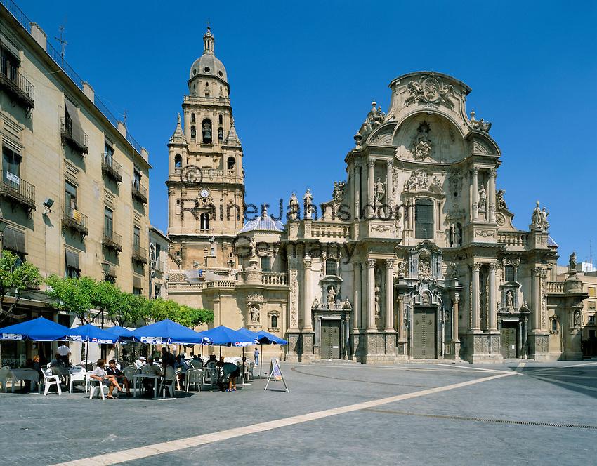 Spain, Murcia, Murcia-City: Santa Maria Cathedral | Spanien, Murcia, Murcia-Stadt: Santa Maria Kathedrale