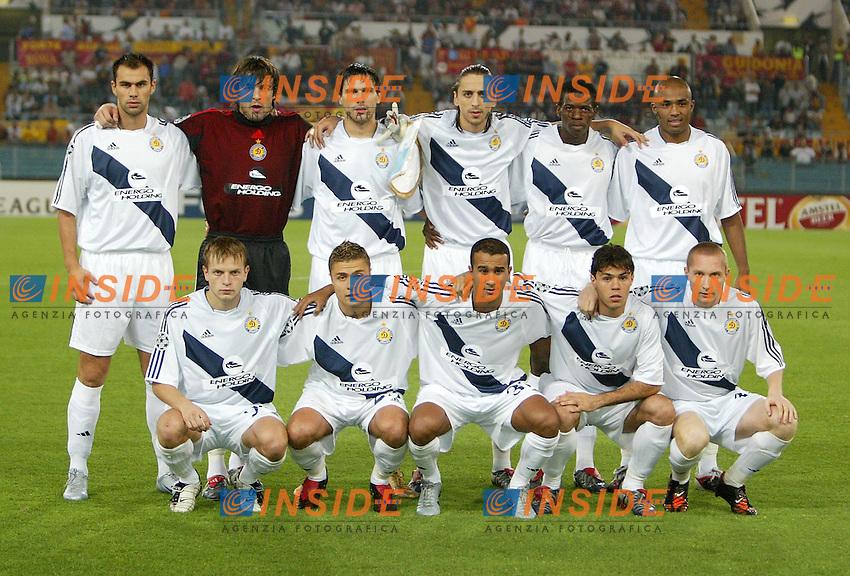 Roma 15/9/2004 CHAMPIONS LEAGUE - 1st MATCHDAY Roma - DINAMO KIEV  0-1 Suspended - Sospesa <br /> Dinamo Kiev<br /> Foto Andrea Staccioli Insidefoto