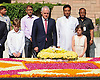 10.04.2017; New Delhi, India: MALCOLM TURNBULL<br /> paying floral tributes at the Samadhi of Mahatma Gandhi at Rajghat in Delhi.<br /> The Prime Minister of Australia is on an official visit to India.<br /> Mandatory Credit Photo: &copy;NEWSPIX INTERNATIONAL<br /> <br /> IMMEDIATE CONFIRMATION OF USAGE REQUIRED:<br /> Newspix International, 31 Chinnery Hill, Bishop's Stortford, ENGLAND CM23 3PS<br /> Tel:+441279 324672  ; Fax: +441279656877<br /> Mobile:  07775681153<br /> e-mail: info@newspixinternational.co.uk<br /> **All Fees Payable To Newspix International**