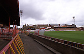 Kop viewed from West paddock......© Phill Heywood.tel 07806 775649
