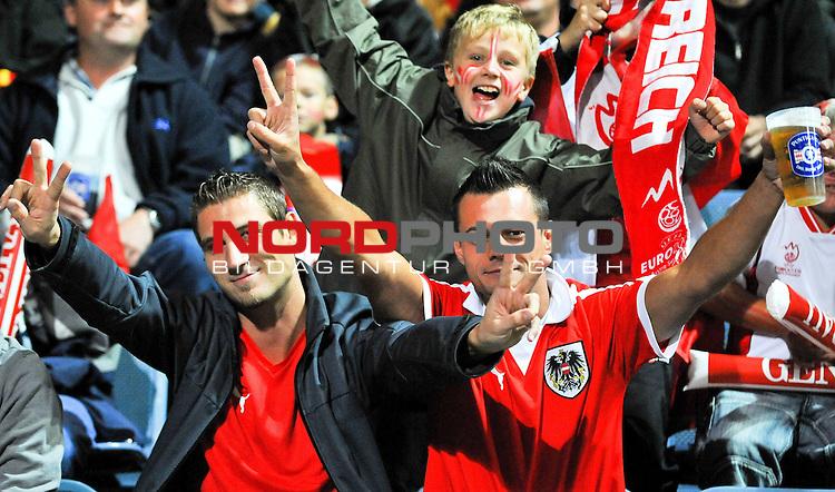 05.09.2009, UPC-Arena, Graz, AUT, WM Quali 2010, Österreich vs Färöer, im Bild Feature mit österreichischen Fans, Foto: nph ( nordphoto ) /  S. Zangprando