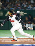 Wladimir Balentien (NED), <br /> MARCH 12, 2017 - WBC : 2017 World Baseball Classic Second Round Pool E Game between <br /> Japan 8-6 Netherlands <br /> at Tokyo Dome in Tokyo, Japan. <br /> (Photo by Sho Tamura/AFLO SPORT)