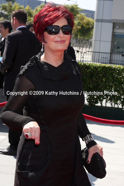 Sharon Osbourne  arriving at the Primetime Creative Emmy Awards at Nokia Center in Los Angeles, CA on September 12, 2009.©2009 Kathy Hutchins / Hutchins Photo