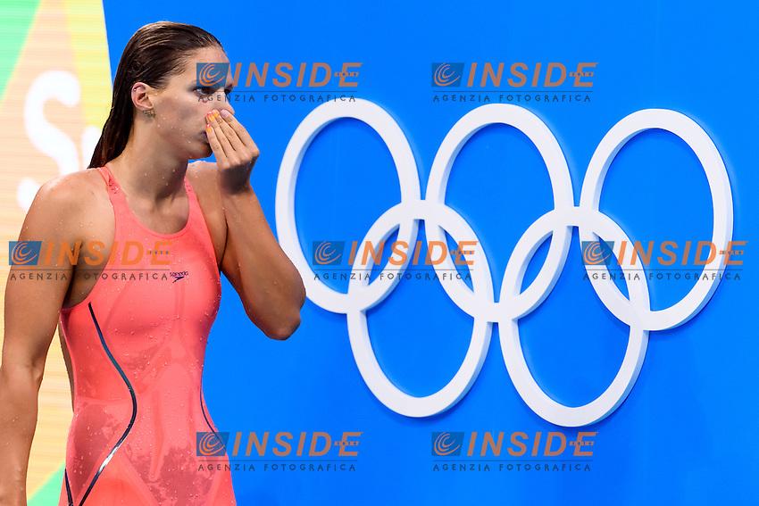 EFIMOVA Yulia RUS Silver Medal Women's 100m Breaststroke <br /> Rio de Janeiro 08-08-2016 Olympic Aquatics Stadium <br /> Swimming Nuoto <br /> Foto Andrea Staccioli/Deepbluemedia/Insidefoto
