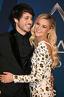 02 December 2017 - Kelsea Ballerini walked down the aisle and wed her fiancé, Morgan Evans, in a ceremony at the Esperanza Resort in Cabo San Lucas, Mexico. The two started dating in March 2016 and got engaged on Christmas 2016. File Photo: 08 November 2017 - Nashville, Tennessee - Morgan Evans, Kelsea Ballerini. 51st Annual CMA Awards, Country Music's Biggest Night, held at Music City Center. Photo Credit: Laura Farr/AdMedia