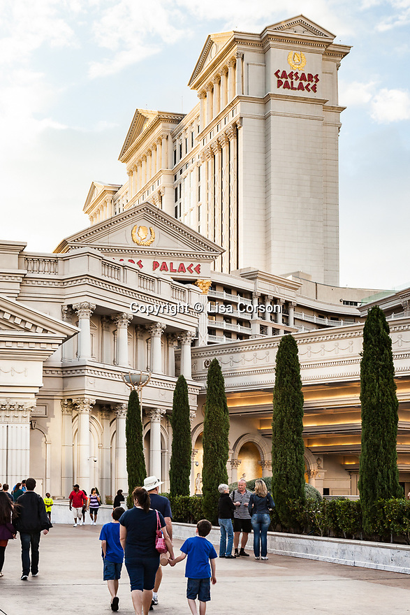 Caesars Palace on the Las Vegas Strip.