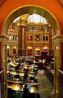 Reading Room of the Library of Congress, Washington, D.C.