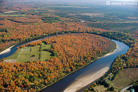 Aerial Photography of Algoma Region in Northern Ontario