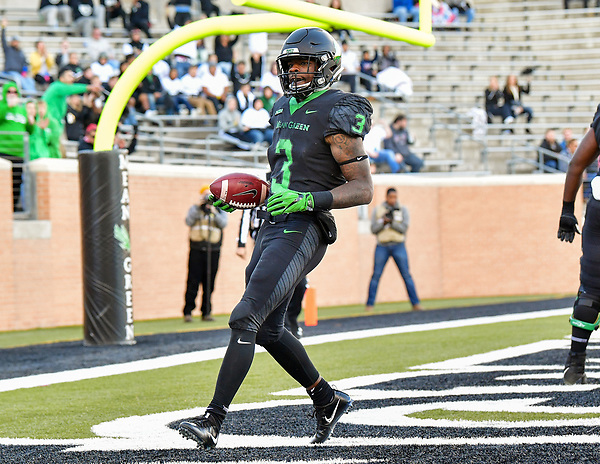 DENTON TX, OCTOBER 28: University of North Texas Mean Green Football v Dominion at Apogee Stadium in Denton Texas on October 28, 2017.