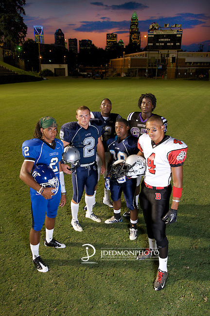 Charlotte Weekly Fall Football  Charlotte Weekly Mecklenburg County Pre Season High School Stars