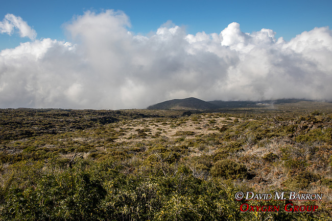 DrivingUp To Haleakala Summit