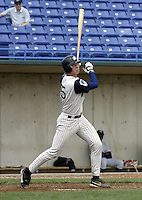 April 21, 2004:  Catcher Colt Morton of the Fort Wayne Wizards, Midwest League (Low-A) affiliate of the San Diego Padres, during a game at Memorial Stadium in Fort Wayne, IN.  Photo by:  Mike Janes/Four Seam Images