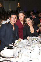 LOS ANGELES, CA - NOVEMBER 8: Mario Lopez, Eva Longoria and Courtney Lopez at the Eva Longoria Foundation Dinner Gala honoring Zoe Saldaña and Gina Rodriguez at The Four Seasons Beverly Hills in Los Angeles, California on November 8, 2018. Credit: Faye Sadou/MediaPunch