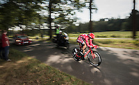 Nils Politt (DEU/Katusha)<br /> <br /> 12th Eneco Tour 2016 (UCI World Tour)<br /> stage 2: Breda-Breda iTT (9.6km)
