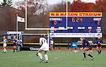 EASTON, MA - NOVEMBER 20:  Shippensburg University plays LIU Post during the NCAA Division II Field Hockey Championship at WB Mason Stadium on November 20, 2016 in Easton, Massachusetts.  Shippensburg University defeated LIU Post 2-1 for the national title. (Photo by Winslow Townson/NCAA Photos via Getty Images)