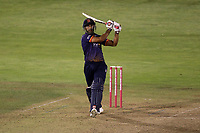Ravi Bopara hits 6 runs for Essex during Glamorgan vs Essex Eagles, Vitality Blast T20 Cricket at the Sophia Gardens Cardiff on 7th August 2018
