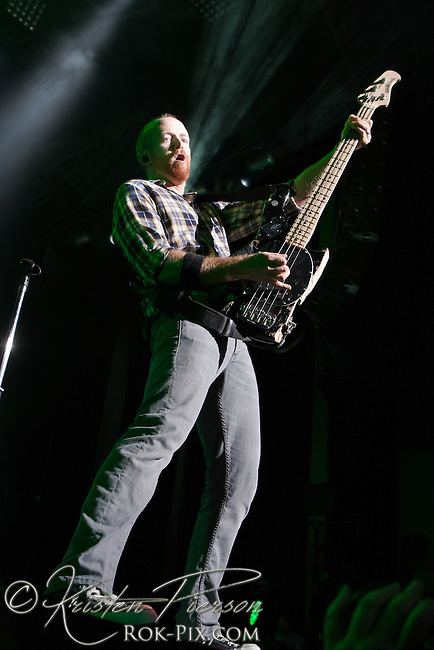 Linkin Park perform at the Honda Civic Tour at Comcast Center, Mansfield, MA August 14, 2012