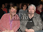 Pat Donaghy and Gay Martin at the Elvis show in the Barbican Centre. Photo:Colin Bell/pressphotos.ie