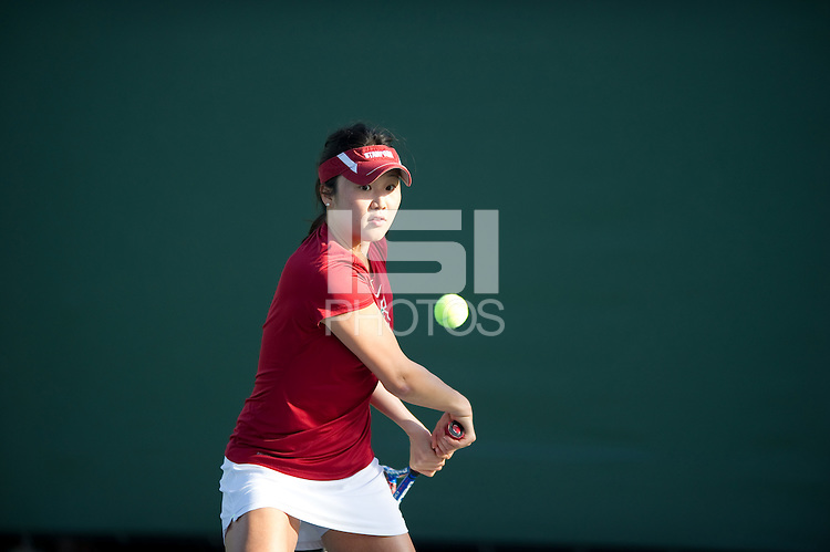 Veronica Li of the 2010 Stanford women's Tennis Team.