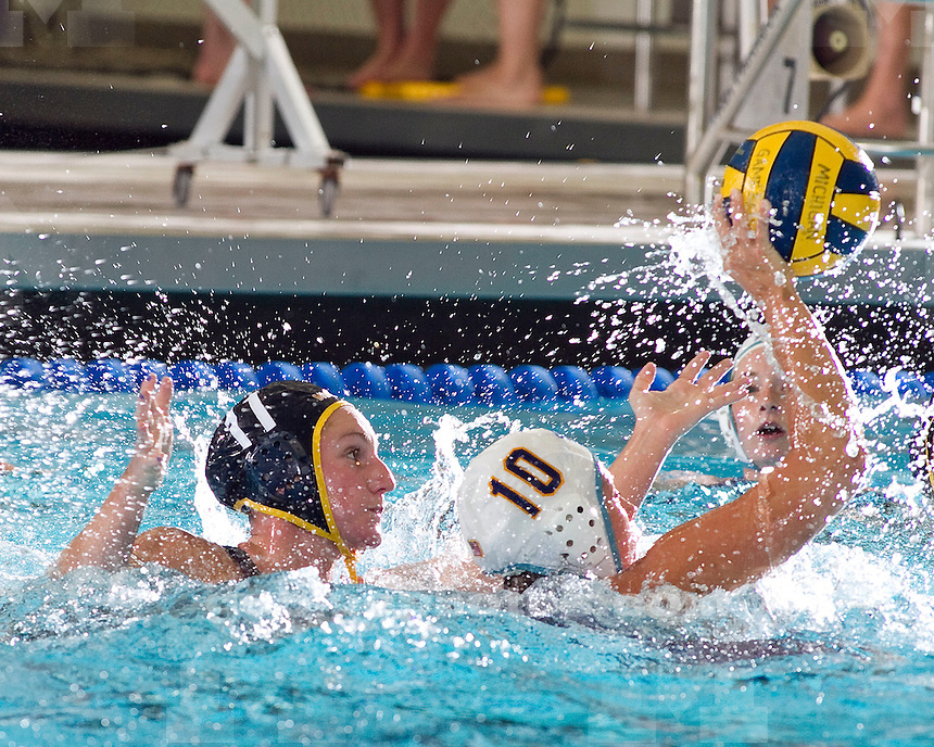 University of Michigan women's water polo  9-7 victory over San Jose State University at Canham Natatorium in Ann Arbor, MI, on January 22, 2011.