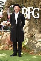 "Mark Rylance<br /> arrives for the ""BFG"" premiere at the Odeon Leicester Square, London.<br /> <br /> <br /> ©Ash Knotek  D3141  17/07/2016"