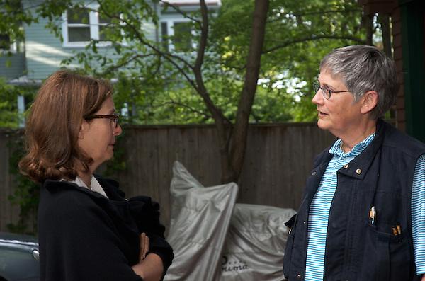 Nancy Gertner and John Reinstein 30th wedding anniversary celebration  in Brookline MA  6.5.15