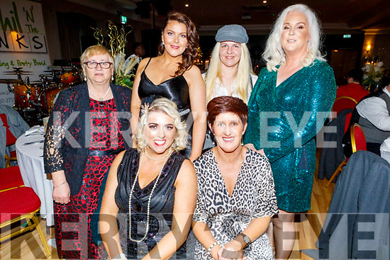 Staff of St Louie Nursing Home enjoying their Christmas party in the Ashe Hotel on Saturday<br /> Seated l to r: Jennifer Hurley and Kathleen Counihan.<br /> Back l to r: Noreen and Sharon Dennehy, Sarah Lannom, Pat Burke and Sinead Dennehy.