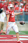 MADISON, WI - SEPTEMBER 9: Punter Ken DeBauche #94 of the Wisconsin Badgers punts the ball during warmups prior to the game against the Western Illinois Leathernecks at Camp Randall Stadium on September 9, 2006 in Madison, Wisconsin. The Badgers beat the Leathernecks 34-10. (Photo by David Stluka)