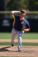 Houston Astros pitcher Will Harris (36) during a Spring Training game against the Toronto Blue Jays on March 9, 2015 at Florida Auto Exchange Stadium in Dunedin, Florida.  Houston defeated Toronto 1-0.  (Mike Janes/Four Seam Images)