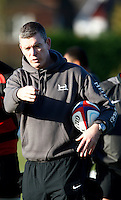 Photo: Richard Lane/Richard Lane Photography. Heroes Rugby Challenge in aid of Help for Heros North training at Wasps training ground, Twyford Avenue.  30/11/2011. Dean Ryan.