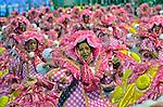 Desfile de carnaval Rosas de Ouro. Sambodromo. Sao Paulo.2014. Foto de Levi Bianco.