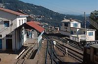 Bahnhof in Shimla, Himachal Pradesh, Indien, Unesco-Weltkulturerbe