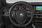 Car pictures of steering wheel view of a 2015 BMW X3 M Sportpakket 5 Door Suv Steering Wheel