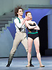Bolshoi Ballet <br /> The Taming of the Shrew <br /> choreography by Jean-Christophe Maillot <br /> at The Royal Opera House, Covent Garden, London, Great Britain <br /> rehearsal of act 1<br /> 3rd August 2016 <br /> <br /> Ekaterina Krysanova as Katherina<br /> Vladislav Lantratov as Petruchio <br /> <br /> <br /> Photograph by Elliott Franks <br /> Image licensed to Elliott Franks Photography Services