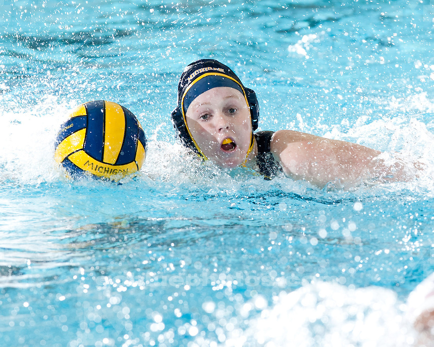 University of Michigan women's water polo 14-8 victory over #15 Cal State Northridge at Canham Natatorium in Ann Arbor, MI, on January 22, 2011.