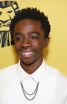 Caleb McLaughlin attends the 20th Anniversary Performance of 'The Lion King' on Broadway at The Minskoff Theatre on November 5, 2017 in New York City.