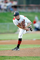 Shawn Sanford, 2010 Salem-Keizer Volcanoes, playing here against the Eugene Emeralds at Volcanoes Stadium in Keizer, OR - 09/03/2010.Photo by:  Bill Mitchell/Four Seam Images..
