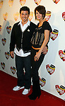 LOS ANGELES, CA. - December 10: Actor Brandon Michael Vayda and guest arrive at The Conga Room Grand Opening At L.A. LIVE on December 10, 2008 in Los Angeles, California