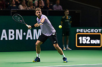 Rotterdam, The Netherlands, 11 Februari 2019, ABNAMRO World Tennis Tournament, Ahoy, Final, Stan Wawrinka (SUI),<br /> Photo: www.tennisimages.com/Henk Koster