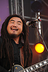 Kaohsiung, MegaPort Music Festival -- Popular Taiwanese reggae artist MATZKA performing at the festival.