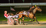MAY 25, 2019 : Bestseller Hanover, driven by Jason Bartlett , wins the Lismore Pace Stakes for 3yo fillies at Yonkers Raceway, on May 25, 2019 in Yonkers, NY.  Sue Kawczynski_ESW_CSM