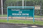 Huntingdon Life Sciences Research Centre, Occold, near Eye, Suffolk, England
