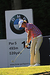 Chris Wood teeing off on the 18th.during round three of the BMW PGA championship 2010 at Wentworth golf club, Surrey England..Picture Fran Caffrey/Newsfile.ie