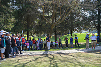 Thomas Pieters (BEL) hits from the trees on 1 during round 3 of the World Golf Championships, Mexico, Club De Golf Chapultepec, Mexico City, Mexico. 3/3/2018.<br /> Picture: Golffile | Ken Murray<br /> <br /> <br /> All photo usage must carry mandatory copyright credit (&copy; Golffile | Ken Murray)