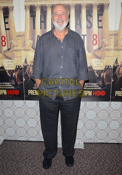 03 June 2014 - Los Angeles, California - Rob Reiner. Arrivals for the Los Angeles Premiere of the new HBO documentary 'The Case Against 8' at DGA Theater in Los Angeles, Ca. <br /> CAP/ADM/BT<br /> &copy;Birdie Thompson/AdMedia/Capital Pictures